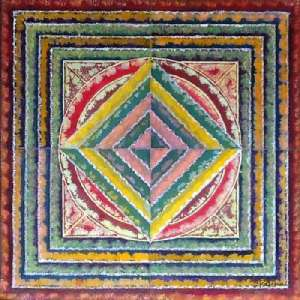 Indian folk art paintings - Panna Paintings - Rangoli 1