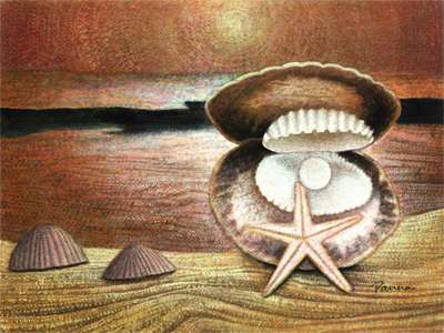 Paintings of seashells - Sea Shells 2 - Panna Paintings