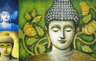 Buddha paintings & attaining nirvana – Panna Paintings