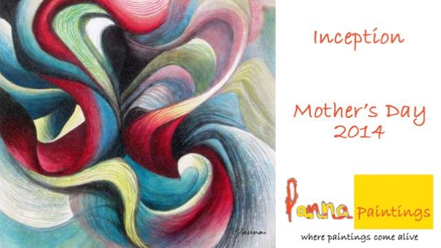 From a Mother's heart – in abstract art! Panna Paintings