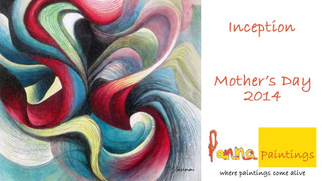 From a Mother's heart – in abstract art!