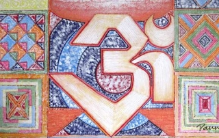Spiritual by Panna Paintings - OM 01