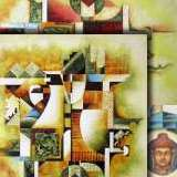 Indian contemporary paintings - Panna Paintings
