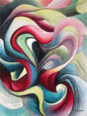Abstract Art - Panna Paintings Exclusive - Inception painting
