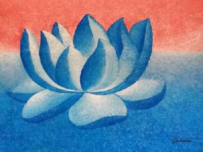 Lotus paintings by Panna - Lotus 1