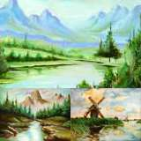Landscape art - Online painting gallery by Panna