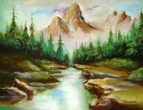 Mountain River I