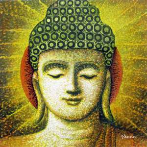 Spiritual by Panna Paintings - modern Buddha paintings - Buddha 08