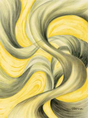 The Twist of Fate 10 - Abstract Art - Panna Paintings